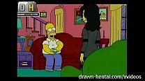 Simpsons Porn - Threesome porn videos