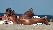 nudist beach full hd clip