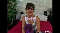 Cute girl Britt blowjob
