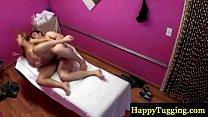 Real asian masseuse on spycam fucked