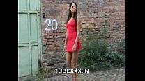 zafira   beauty in red dress