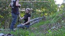 Passionate couple porn scenes in the desolate woods porn videos