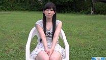 Yui Kasugano superb Japanese porn play in outdoors thumbnail