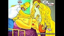 parody hentai futurama vs Simpsons