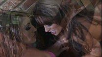 FFM  Orgasmic Anal Brunette