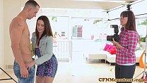 shevon sarah with fun anal femdom Cfnm