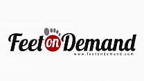 Caged Stocking Dog POV - Femdom Foot Fetish Stockings thumbnail