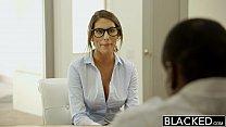 BLACKED August Ames Gets An Interracial Creampie porn videos