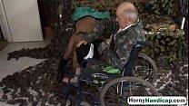 amputee fucking brunette teen riding wheelchairk hi 1