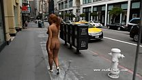 Nude in San Francisco:Hot black girl walks naked through crowded streets, poojagandhi hot nude Video Screenshot Preview
