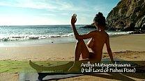 nude yoga ocean goddess trailer