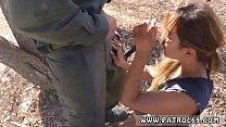Megan clara fake cop Border Jumper Puts Out Big...