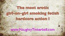 Very erotic teen smoking lesbian fetish. Lesbis...
