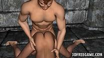Tasty 3D cartoon redhead hottie getting fucked ...