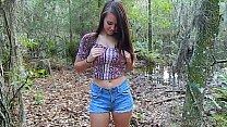 Brooke Avery outdoor masturbation porn videos