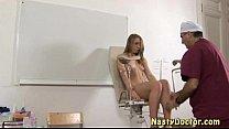 Nasty gynecologist fucks teen porn videos