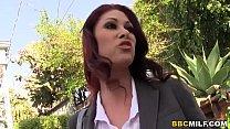 Big titted Cougar Tiffany Mynx Fucks Two Black Cocks porn videos
