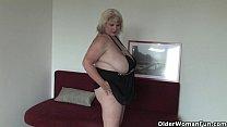Big mature mom with huge tits fucks herself porn videos