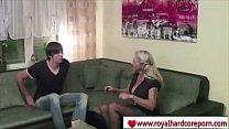 Blonde Mom Fucking Son - www.royalhardcoreporn.com porn videos