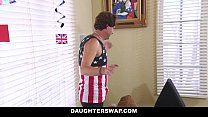 DaughterSwap - Daughters Lose Bet and Fuck Dads thumbnail