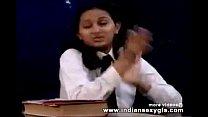 Horny Hot Indian PornStar Babe as School girl Squeezing Big Boobs and masturbating Part1 - indiansex thumbnail