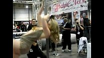 AEE 2010 Adult Superstar Sunny Lane Dances on S...