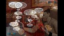 3D Comic: Clara Ravens. Chapter 3