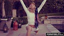 PORNFIDELITY - Yoga Babe Arya Faye Creampied Deep porn videos