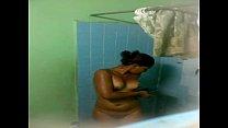 baño el en espia Camara