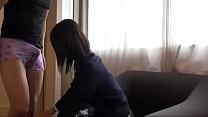 vez primera su en llora japonesa colegiala primera