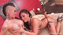 Christy Mack & London Keyes Threesome Fuck