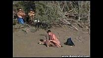 public sex at the beach