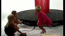 Glam cfnm femdom Nikki Sexx sucking dick porn videos