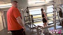 Tiny Australian bangs her gym instructor porn videos