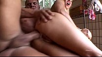 housewife horny white bangs workman Black