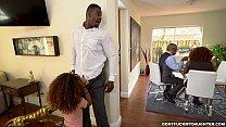 daughter black Horny