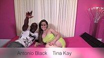 Fantastic interracial sex with a nice cumshot ending thumbnail