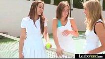 Horny Lesbo Girls (Dani Daniels & Malena Morgan & Lia Lor) Play And Make Love video-14 porn videos