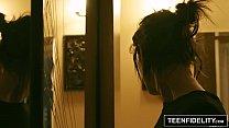 TEENFIDELITY Goth Slut Ivy Aura Creampied thumbnail
