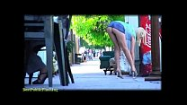 rylie richman mini skirt flashing babe pt2