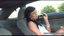 Horny teen slut Ashli Orion swallows