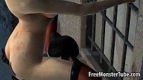 3D lesbian Harley Quinn gets eaten out outdoors, 3d vcp Video Screenshot Preview