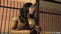 Ebony Tamra Millan Wants Big White Cock