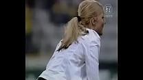 nip slip blonde celeb