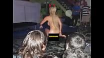 FAMOSA ARGENTINA REALIZA SHOW EN CHILE  HISPAN...