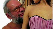 old man enjoy s lyen s crotchless panties