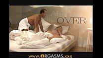 XXX ORGASMS Two cumshots for sexy blonde Videos Sex 3Gp Mp4