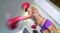 Boxing blondes porn videos