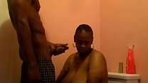 BBC Titty Fucking Ebony and cummin over big bre...