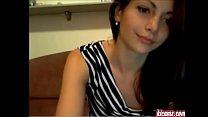 beautiful brunette masturbates on webcam name please